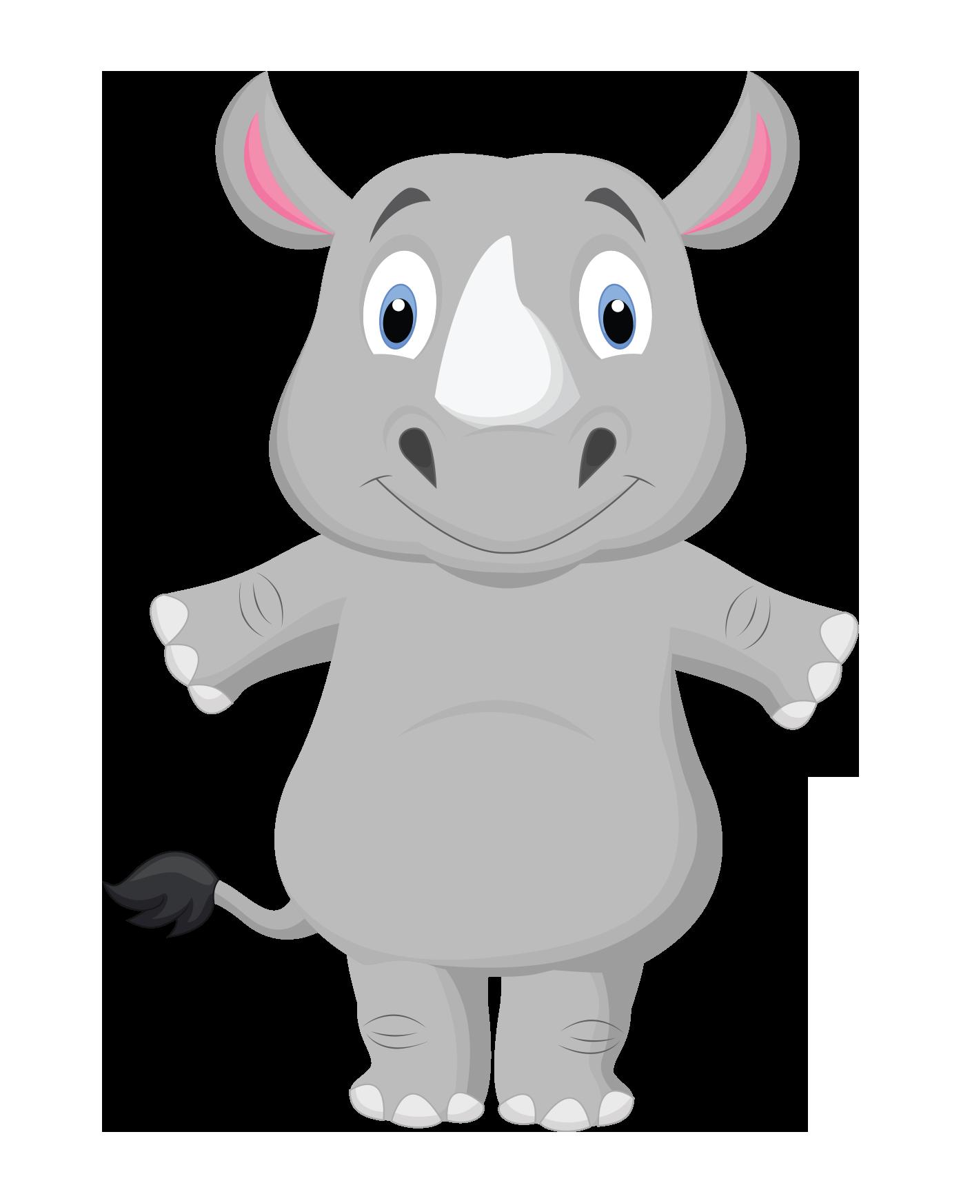 Pure beginnings Rhino Character