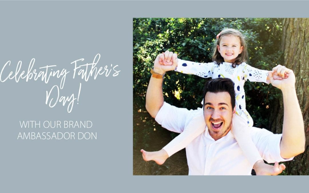 The Fathers' Day inspiration continues with brand ambassador, Don!